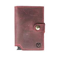 Картхолдер кожаный Valenta Rush Марсала (OK135992)
