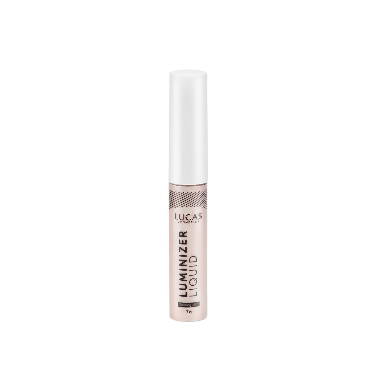 Колір 105 Рідкий хайлайтер Luminizer Liquid, LUCAS, Sunset Rose 7 м