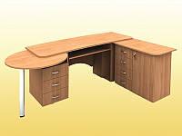 Стол учителя — 2010х600х750 мм (столешница 22 мм), фото 1