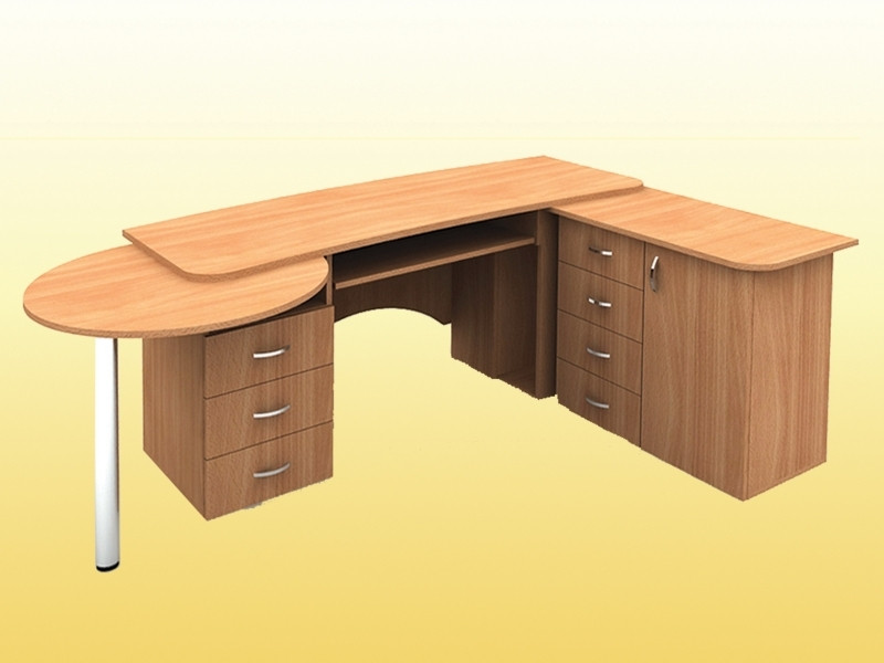 Стол секретаря — 1950х1450х750 мм (столешница 22 мм)