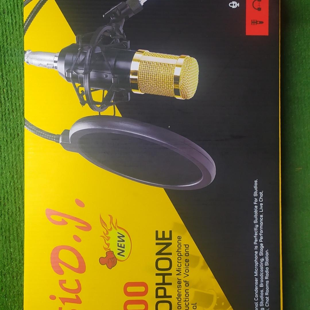Микрофон конденсаторный MHZ M-800