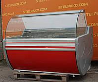 Холодильная витрина охлаждаемая «Cold W-15 SGSP» 1.55 м. (Польша), мраморная столешница, Б/у