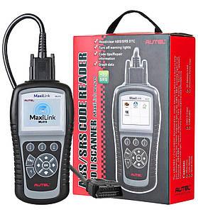 Автосканерпрофессиональный AUTEL MaxiLink ML619 (OBD2/EOBD+CAN) (читает ошибки двигателя и мотора)