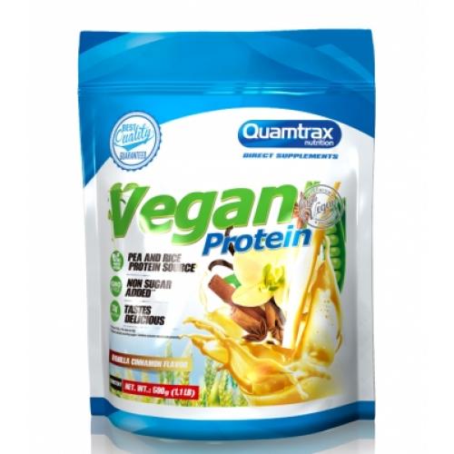Веган протеїн Quamtrax Vegan protein 500 г