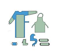 1355-Н  Комплект одягу протиепідемічний № 1