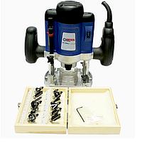 Машина фрезерная электрическая Витязь МФ-2100Н с набором фрез, фото 1