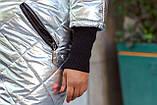 Демисезонная куртка для полной женщины Плащевка на синтепоне Размер 52 54 56 58 60 62 64 66 В наличии 3 цвета, фото 7