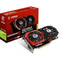 Видеокарта MSI  GeForce GTX1050 Ti 4096Mb GAMING X