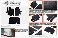 Рено Мастер Резиновые коврики Stingray Premium 3 штучные