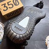 Кроссовки Adidas Yeezy Boost 350 V2 Triple Black черные рефлектив 🔥 Адидас женские кроссовки рефлективные 🔥, фото 7