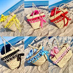 Пляжные сумочки