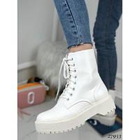 Ботинки Dr. Martens белые, фото 1