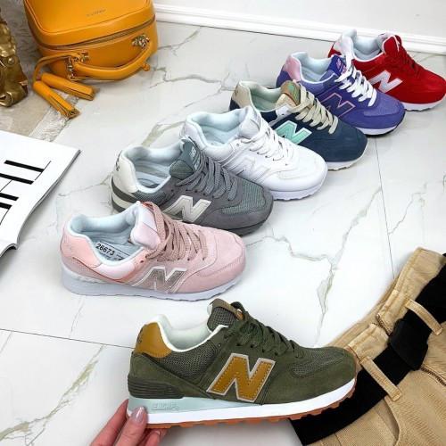 Кроссовки New Balance зеленые