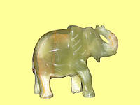 "Слон из оникса 6"" (6х12х15 см)"