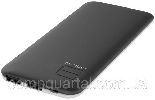 Портативний зарядний пристрій PURIDEA S4 6000mAh Li-Pol Rubber Black & White