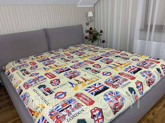"""надписи"" летнее одеяло покрывало евро размер 200/210, фото 2"