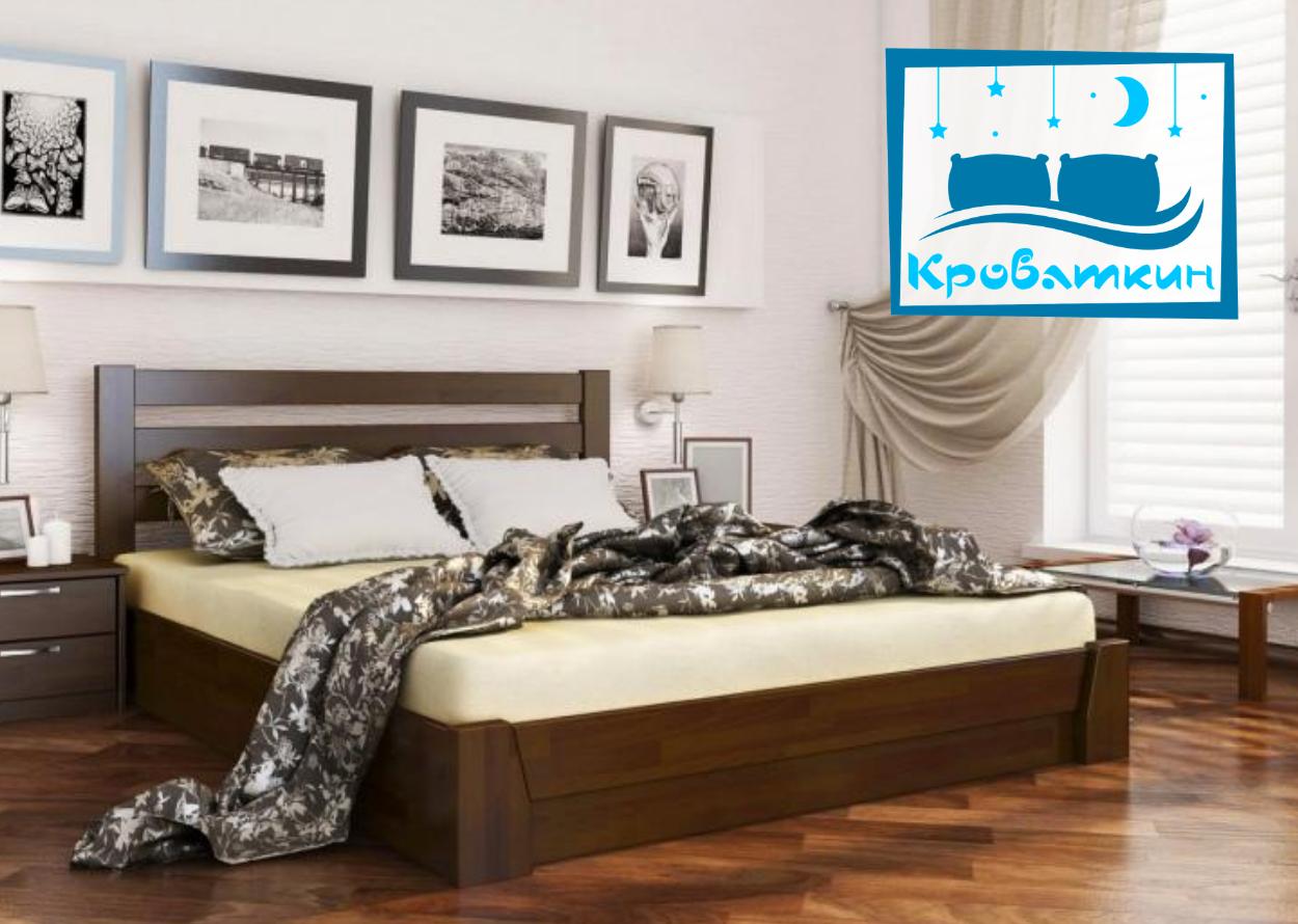 Деревянная кровать Селена с механизмом 120х190см Эстелла