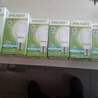 Cветодиодная лампочка LED 6500 K  5 W  PHLIGHT, фото 4