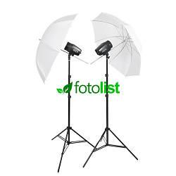 Набор импульсного студийного света Godox MiniMaster-150 KIT-2, 2х150 Дж
