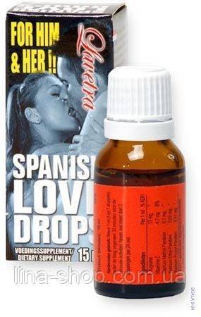 Капли Spanish Love Drops
