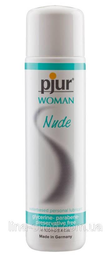 Лубрикант на водной основе pjur Woman Nude 100 мл