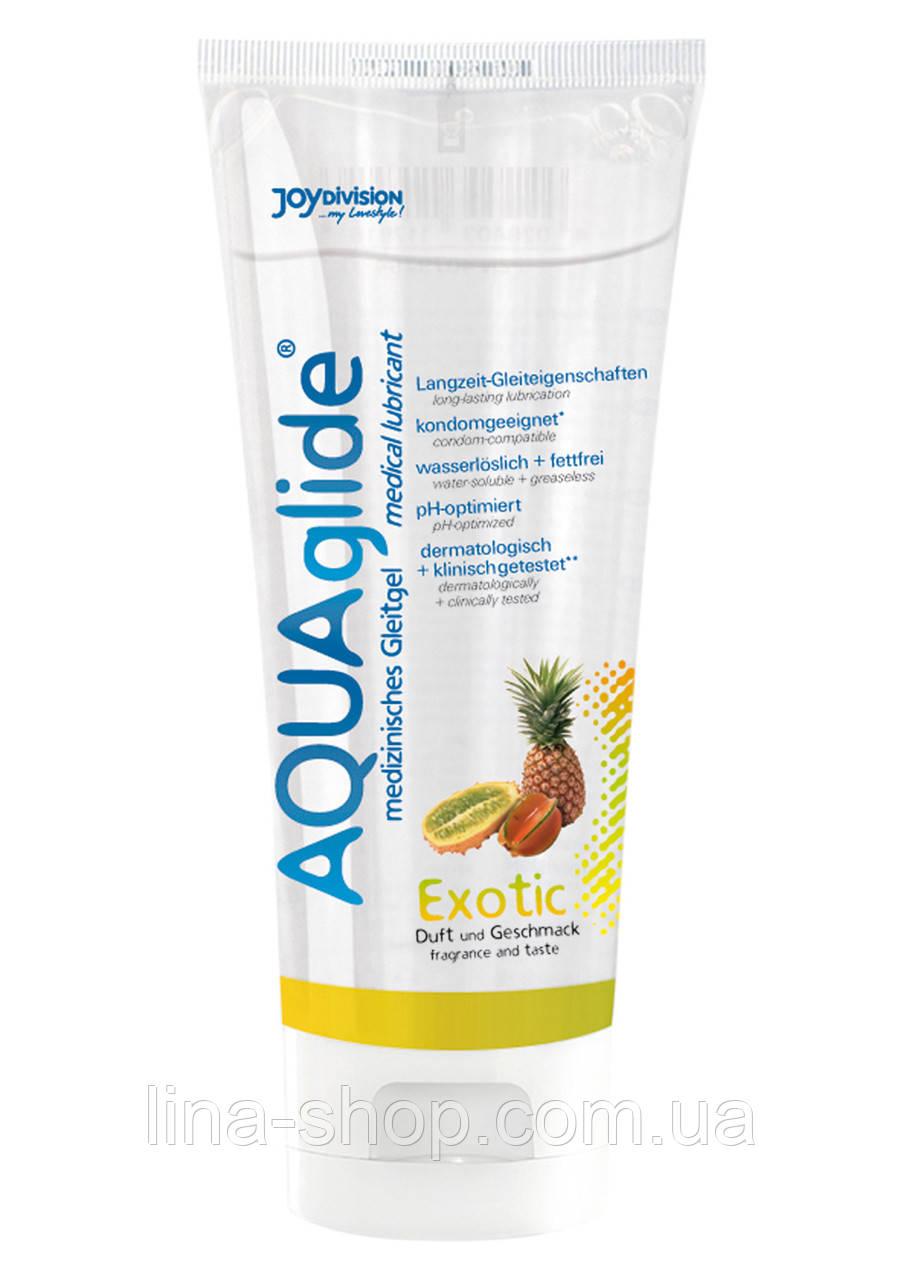 """Лубрикант """"AquaGlide"""", экзотический фрукт, 100 мл"""