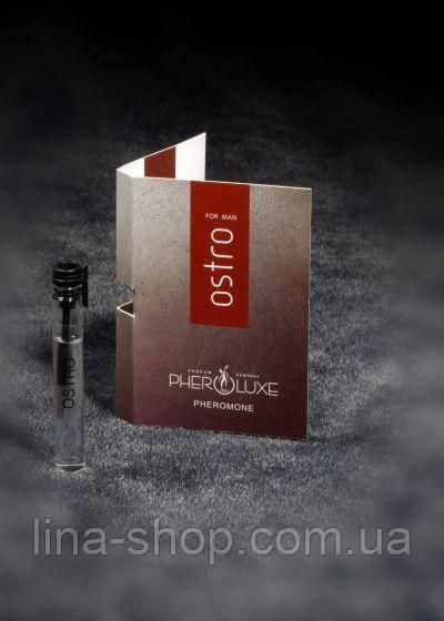 PHEROLUXE - Пробник мужских духов Ostro, 2мл (P76)