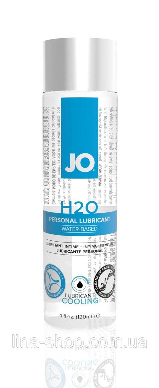 Лубрикант на водній основі System JO H2O - COOLING (120 мл)