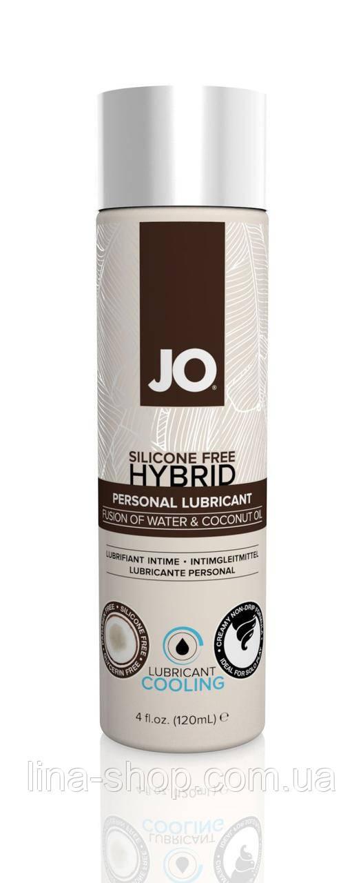 Лубрикант на комбинированной основе System JO SILICONE FREE HYBRID - COOLING (120 мл)