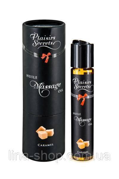Масажне масло Plaisirs Secrets Caramel (59 мл)