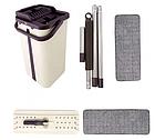 Швабра з віджиманням Scratch Cleaning Mop Миюча для прибирання і миття підлоги, фото 9