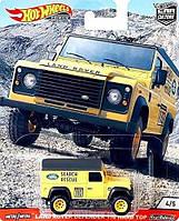 Машинка Хот Вилс коллекционная Hot Wheels Land Rover 110 Panel Vehicle