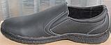 Туфли мужские кожаные от производителя модель ВК012, фото 3