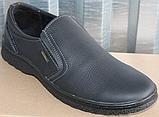 Туфли мужские кожаные от производителя модель ВК012, фото 2