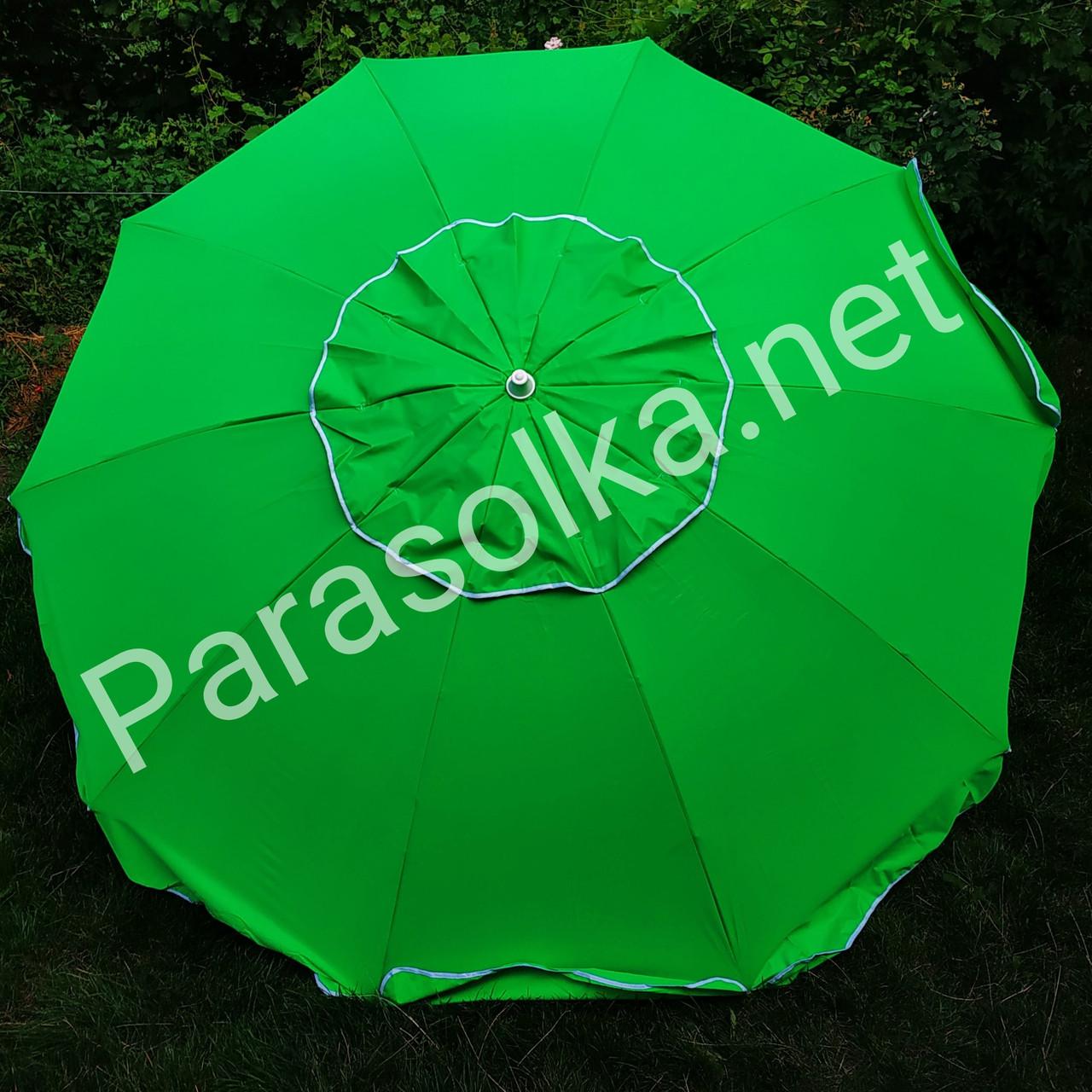 Зонт 2,6 метра брезентовый с клапаном