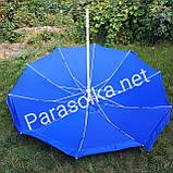 Зонт 2,6 метра брезентовый с клапаном, фото 3