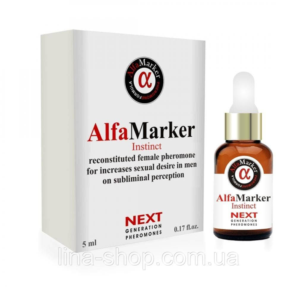 Запашна есенція з феромонами AlfaMarker Instinct for Women, 5 мл