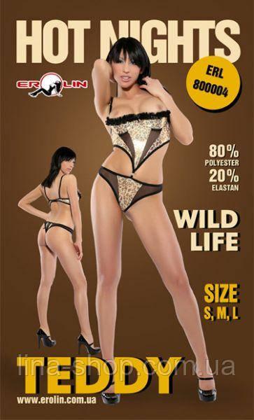 Erolin - Боди Wild Life, L (ERL800004 S)