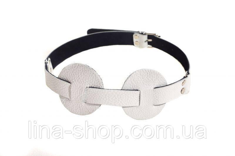SLash - Маска SUB leather mask, WHITE (280254)