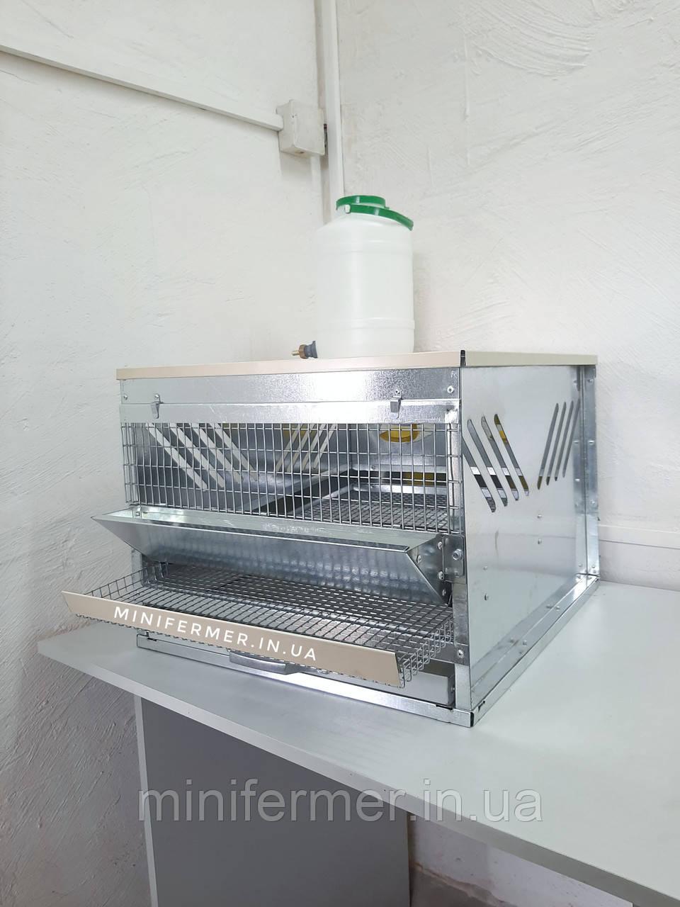 Клетка для перепелов ( Мини 15-20 шт)