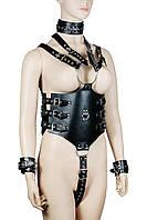 Боди с наручниками Пикантные Штучки, фото 1