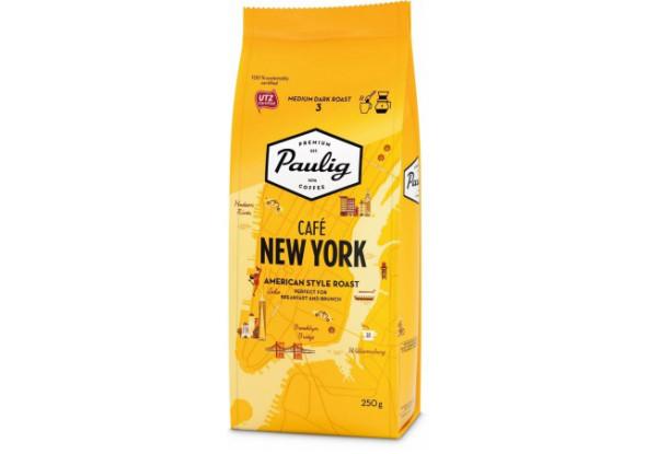 Молотый кофе Paulig Cafe New York 250 грам Финляндия