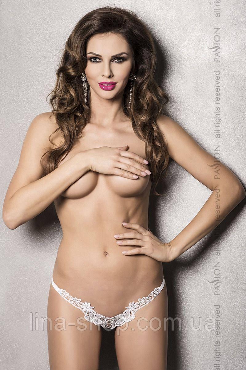 ATHENA THONG white L/XL - Passion