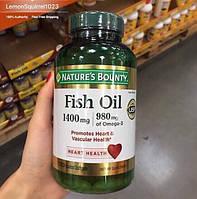 Fish Oil 1400mg/980mg Omega3. 130 капсул. Самый сильный состав!