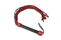 Плеть с множеством хвостов, красно-черная, фото 1