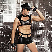 """Чоловічий еротичний костюм поліцейського """"Капітан Безпринципність"""", фото 1"""
