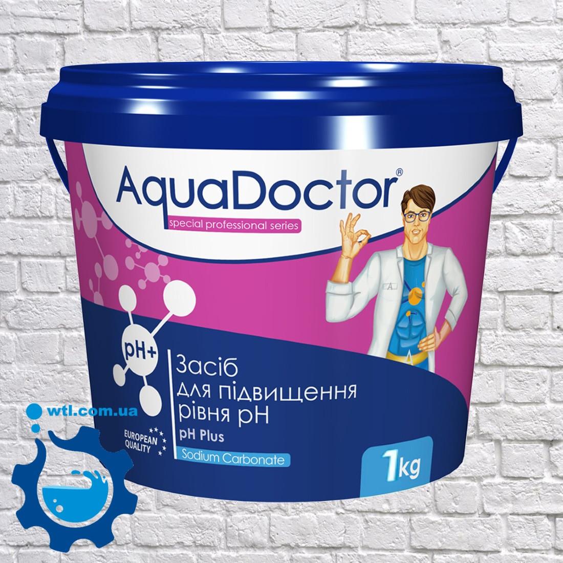 Средство для повышения уровня pH Aquadoctor pH Plus 1 кг Аквадоктор (порошок)