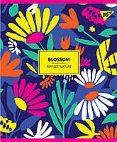 "Зошит A4 48арк. кліт. ""Blossom"" неон+софт+тач 764419/Yes, фото 1"
