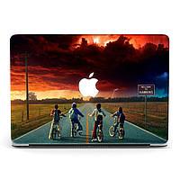 Чехол пластиковый для Apple MacBook Pro / Air Очень странные дела (Stranger Things) макбук про case hard cover
