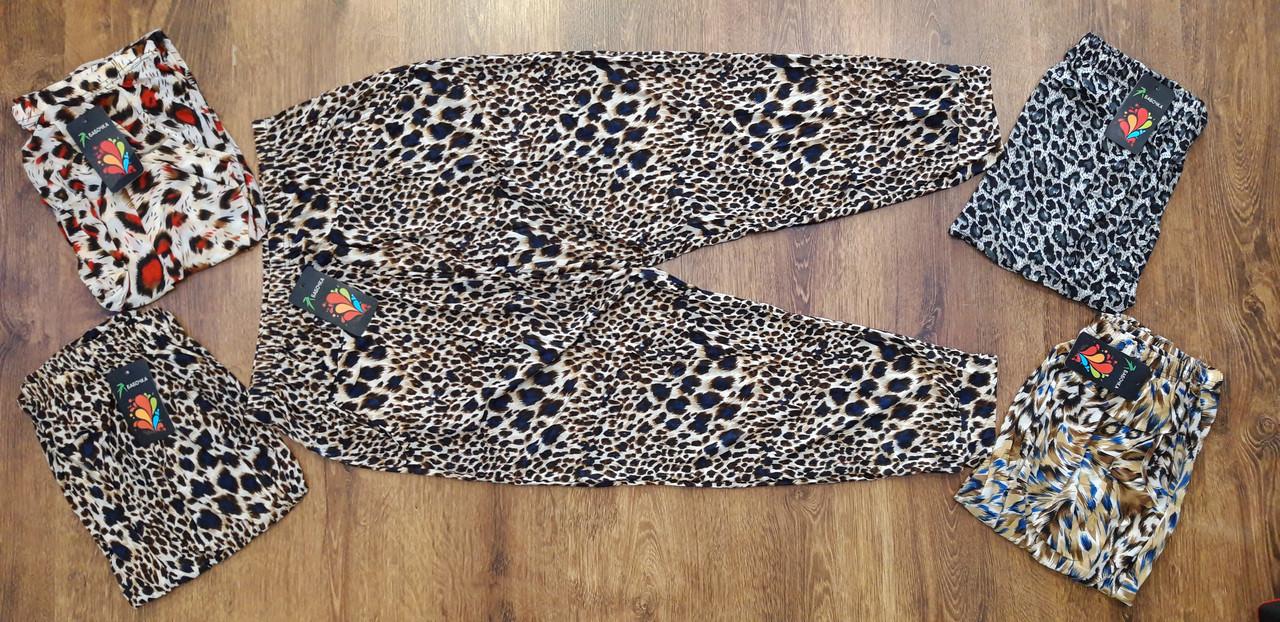 """Жіночі брюки-султанки """"Метелик"""" 3XL-4XL(48-54)"""